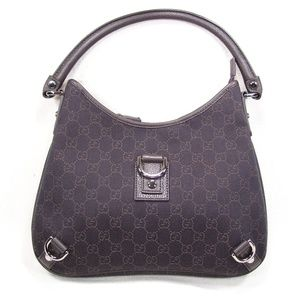 Gucci Abbey Hobo Bag Chocolate/Olive Br Like New.